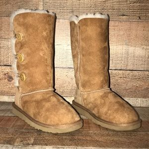 Ugg Bailey Button Triplet Boots Size 3